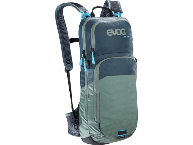 EVOC CC Mochila Lite Performance 10l, slate-olive